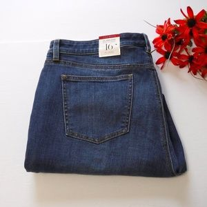 NWT Talbots Flawless Five Pocket Jeans Size 16